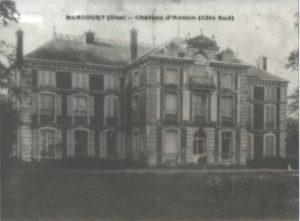 Carte postale du château