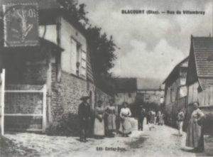 Carte postale de la rue