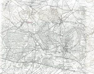 Photocopie d'une carte