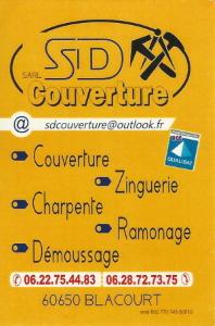 carte de visite de SDCouverture