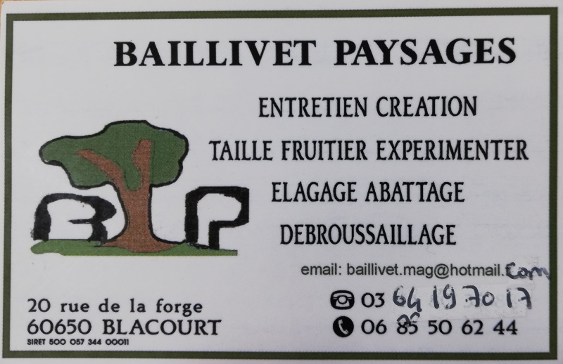 Carte Baillivet